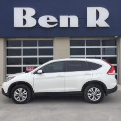Used 2012 Honda CR-V EX-L for sale in Steinbach, MB