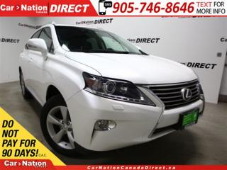 Used 2014 Lexus RX 350 | AWD| LEATHER| SUNROOF| BACK UP CAMERA| for sale in Burlington, ON