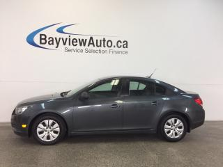Used 2013 Chevrolet Cruze LS- 6 SPEED! A/C! ON STAR! BUDGET BUDDY! for sale in Belleville, ON