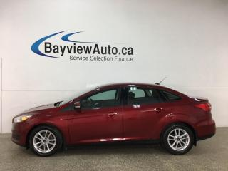 Used 2016 Ford Focus - AUTO! REVERSE CAM! SYNC! ALLOYS! + MORE! for sale in Belleville, ON