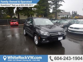 Used 2016 Volkswagen Tiguan Special Edition, Rain Sensing Wipers, Heated Front Seats & Rear View Camera for sale in Surrey, BC