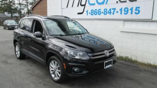 Used 2014 Volkswagen Tiguan Highline for sale in Richmond, ON