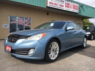 Used 2010 Hyundai Genesis Coupe 2.0T $127.82 BI WEEKLY! $0 DOWN! CERTIFIED! for sale in Bolton, ON