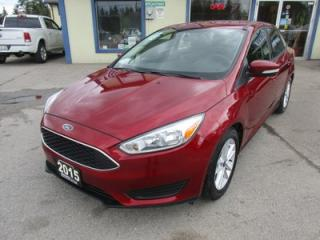Used 2015 Ford Focus FUEL EFFICIENT SE EDITION 5 PASSENGER 2.0L - DOHC.. FLEX FUEL.. SYNC TECHNOLOGY.. BLUETOOTH.. BACK-UP CAMERA.. for sale in Bradford, ON