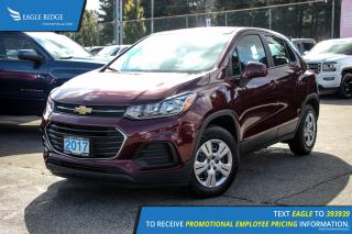 New 2017 Chevrolet Trax LS Bluetooth and Backup Camera for sale in Port Coquitlam, BC