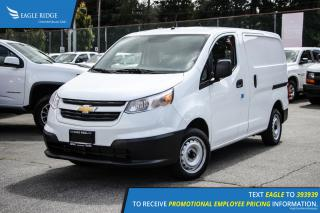 New 2017 Chevrolet City Express 1LS AM/FM Radio and Air Conditioning for sale in Port Coquitlam, BC
