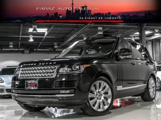 Used 2014 Land Rover Range Rover SUPERCHARGED|TV/DVD|NAVI|PANO ROOF for sale in North York, ON