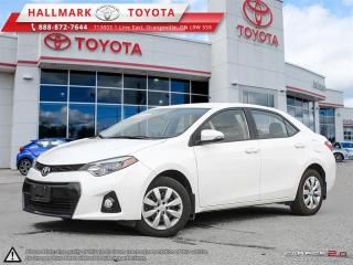 Used 2016 Toyota Corolla 4-door Sedan S CVTi-S for sale in Mono, ON