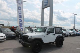 Used 2014 Jeep Wrangler SPORT for sale in Whitby, ON