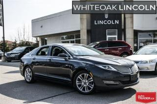 Used 2013 Lincoln MKZ navi,moon,reserve package,one owner for sale in Mississauga, ON