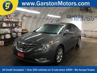 Used 2011 Hyundai Sonata 2.0T*LIMITED*NAVIGATION*LEATHER*POWER SUNROOF*BACK UP CAMERA*ALLOYS*DIMENSION AUDIO*HEATED FRONT SEATS*POWER DRIVER SEAT*KEYLESS ENTRY w/PUSH BUTTON S for sale in Cambridge, ON