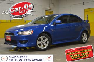 Used 2009 Mitsubishi Lancer SE SUNROOF HEATED SEATS SIRIUS XM ALLOYS for sale in Ottawa, ON