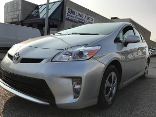 Used 2012 Toyota Prius ALLOYS WHEELS|BACK UP CAMERA|CERTIFIED for sale in Concord, ON