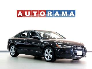 Used 2013 Audi A6 NAVIGATION BACKUP CAM LEATHER SUNROOF AWD for sale in North York, ON