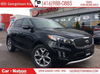 Used 2018 Kia Sorento SX TURBO | $239 BI-WEEKLY | 2 LEFT | for sale in Georgetown, ON