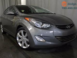 Used 2013 Hyundai Elantra GLS / GPS Navigation / Sunroof / Rear Back Up Camera for sale in Edmonton, AB