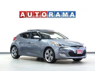 Used 2012 Hyundai Veloster NAVIGATION BACKUP CAM LEATHER SUNROOF for sale in North York, ON