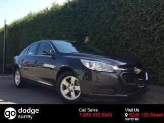 Used 2016 Chevrolet Malibu Limited LS w/1LS + ONSTAR + ALLOYS + NO EXTRA DEALER FEES for sale in Surrey, BC