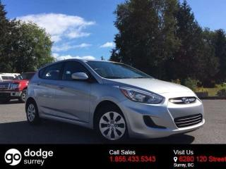 Used 2016 Hyundai Accent GL + BLUETOOTH + HEATED FT SEATS + NO EXTRA DEALER FEES for sale in Surrey, BC