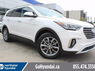 Used 2017 Hyundai Santa Fe XL LUX LEATHER NAV PANOROOF HEATED REAR SEATS for sale in Edmonton, AB