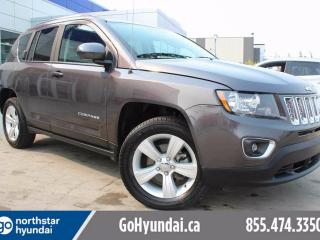 Used 2015 Jeep Compass HIGH ALTITUDE LEATHER SUNROOF 4X4 for sale in Edmonton, AB