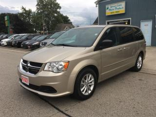 Used 2016 Dodge Grand Caravan SXT   DVD, R.CAM.,P.SEAT. for sale in Belmont, ON