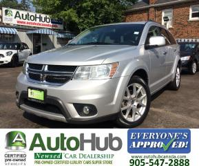 Used 2011 Dodge Journey R/T-AWD-LEATHER for sale in Hamilton, ON