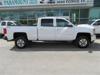 Used 2017 Chevrolet Silverado 2500 HD CrewCab 4x4 gas short box loa ded for sale in Richmond Hill, ON