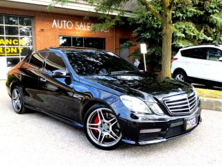 Used 2013 Mercedes-Benz E-Class E 63 AMG ,Preformance Package, CERTIFIED for sale in Concord, ON