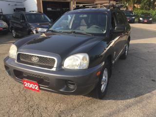 Used 2002 Hyundai Santa Fe GL british Colombia car NO rust for sale in Scarborough, ON