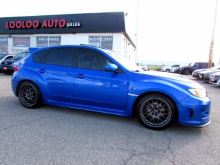 Used 2013 Subaru WRX Limited AWD Leather Sunroof Certified 2YR Warranty for sale in Milton, ON