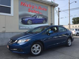 Used 2013 Honda Civic LX - AUTO - HEATED SEATS - LOADED! ONLY 19,000KM! for sale in Gloucester, ON