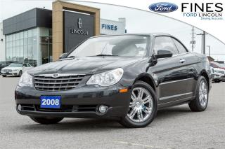 Used 2008 Chrysler Sebring Limited - SOLD! CONVERTIBLE, LOW MILEAGE for sale in Bolton, ON