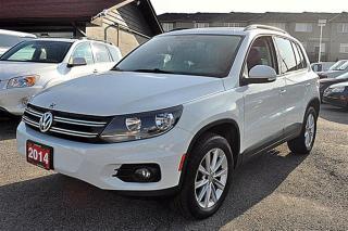 Used 2014 Volkswagen Tiguan 4Motion, Leather, Panormaic for sale in Aurora, ON