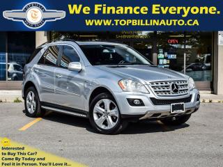 Used 2009 Mercedes-Benz ML-Class ML-320 Fully Loaded, 105K kms for sale in Concord, ON
