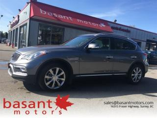Used 2017 Infiniti QX50 Lowest Interest Rate on a car YOU want, O.A.C. for sale in Surrey, BC