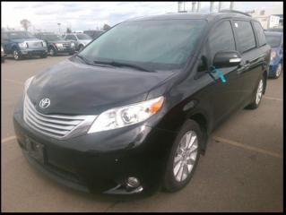 Used 2013 Toyota Sienna XLE Limited AWD Leather Nav DV for sale in Winnipeg, MB