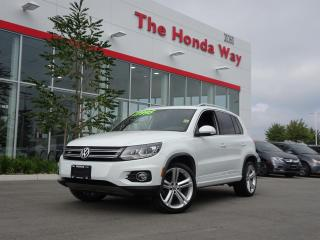 Used 2015 Volkswagen Tiguan R LINE for sale in Abbotsford, BC