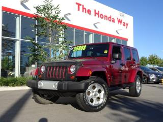 Used 2013 Jeep Wrangler Unlimited Sahara 4WD for sale in Abbotsford, BC