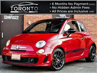 Used 2012 Fiat 500 Abarth Abarth+5 Speed+Heated & Leather+Turbo Charged for sale in North York, ON