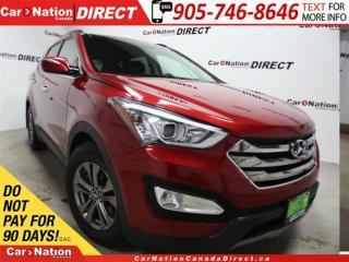 Used 2014 Hyundai Santa Fe Sport 2.4 Luxury| AWD| LEATHER| PANO ROOF| for sale in Burlington, ON
