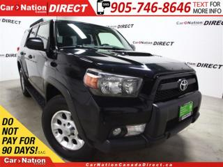 Used 2012 Toyota 4Runner Trail Edition | 4X4| SUNROOF| POWER SEATS| for sale in Burlington, ON