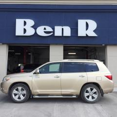 Used 2008 Toyota Highlander LIMITED  for sale in Steinbach, MB