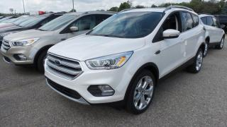 New 2017 Ford Escape Titanium, AWD, 245hp, Lthr, Nav, Pano Roof for sale in Stratford, ON