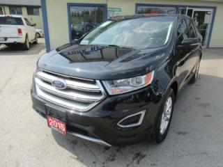 Used 2015 Ford Edge LOADED SEL MODEL 5 PASSENGER 3.5L - V6.. AWD.. LEATHER.. HEATED SEATS.. SUNROOF.. NAVIGATION.. BACK-UP CAMERA.. for sale in Bradford, ON