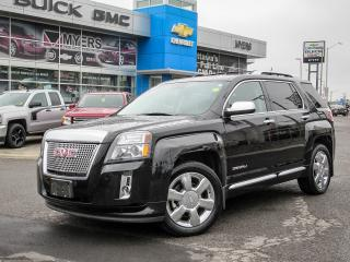 Used 2015 GMC Terrain DENALI, 3.6 AWD, ROOF, FULL LOAD for sale in Ottawa, ON