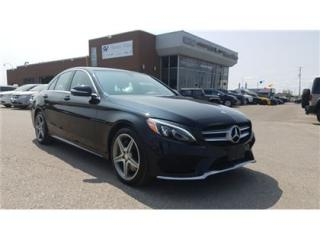 Used 2015 Mercedes-Benz C-Class C300 4MATIC NAVIGATION, PANORAMIC ROOF !!! for sale in Concord, ON