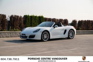 Used 2013 Porsche Boxster S PDK for sale in Vancouver, BC