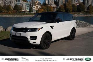 Used 2017 Land Rover Range Rover Sport V8 Supercharged Dynamic SALE! for sale in Vancouver, BC