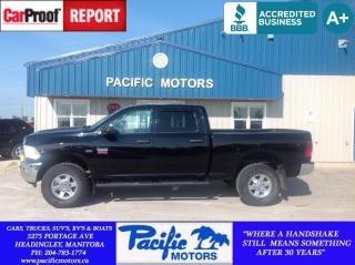 Used 2012 Dodge Ram 2500 SLT for sale in Headingley, MB
